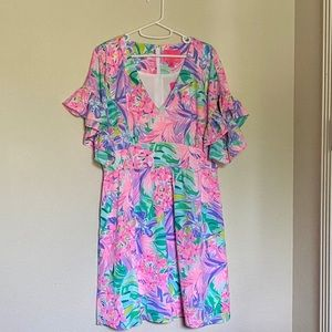 Lilly Pulitzer Blaire Fit and Flare Stretch Dress